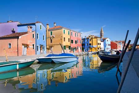 Venice, Burano island, Italy photo