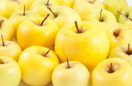 golden apple: juicy apples background