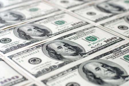 hundred dollar bill: Background with money, american hundred dollar bonds