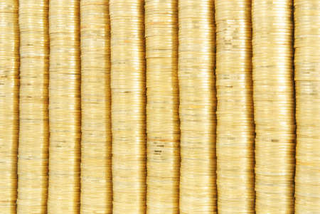 gold coin stack background Stock Photo - 18260398
