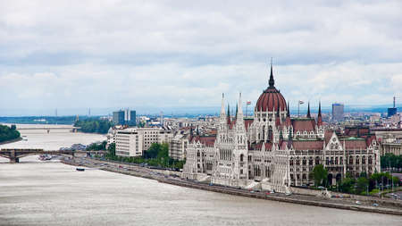 parliamentarian: The building of the Parliament, Budapest, Hungary
