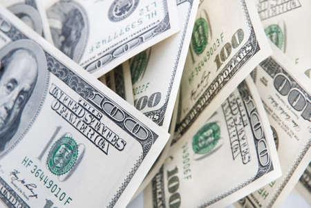 cash money: fondo de dinero de billetes de cien dólares americanos