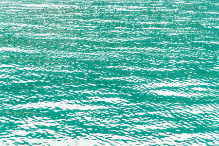 turquoise water: Abstract turquoise sea water waves nature background
