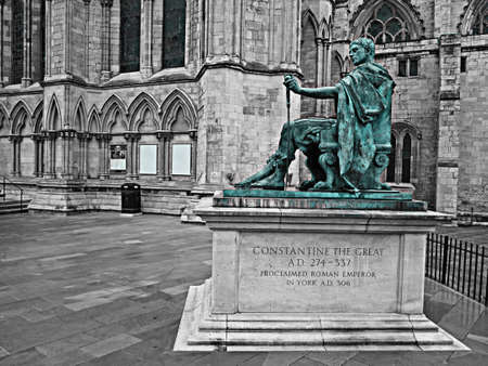 constantine: statue of constantine the great Editorial