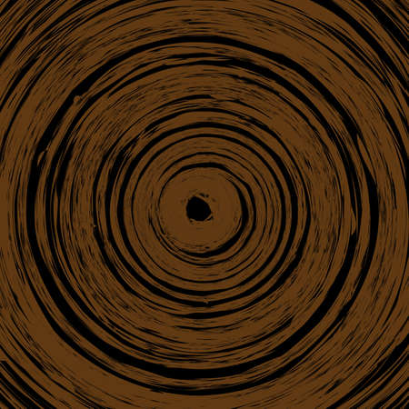 rings on a tree: Wood cross section background vector