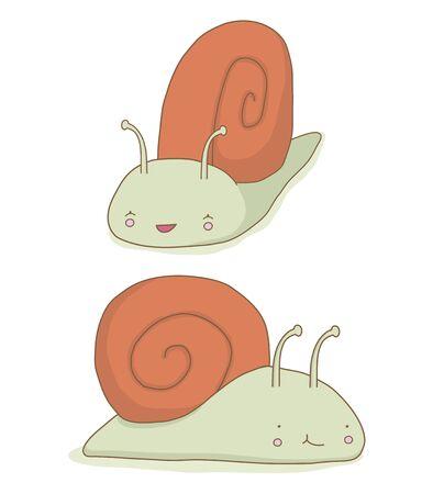 Snails Ilustrace