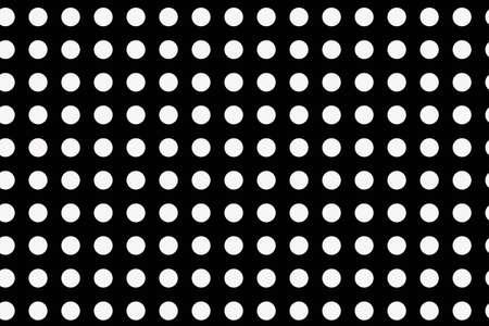Seamless Polka dot pattern vector illustration