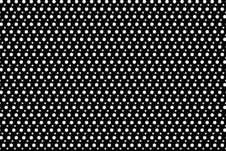 Seamless Polka dot pattern vector illustration