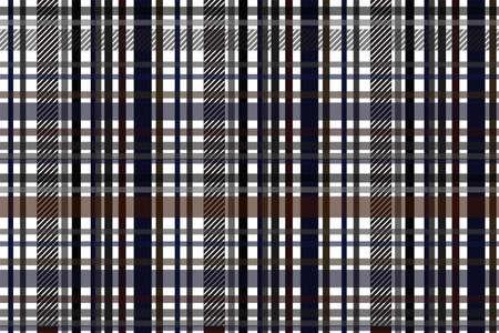 Textured tartan background. Seamless pattern.