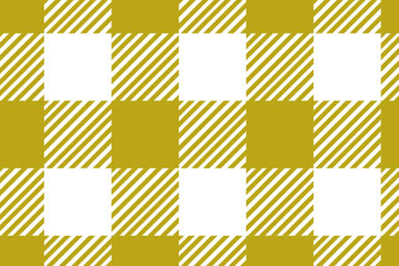 Gingham yellow pattern. Texture from rhombus/squares for - plaid, tablecloths, clothes, shirts, dresses, paper and other textile products