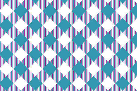 Firebrick Gingham pattern. Texture from rhombus/squares for - plaid, tablecloths, clothes, shirts, dresses, paper and other textile products. Illustration