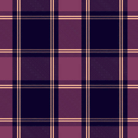 Tartan Pattern in Black and Green . Texture for plaid, tablecloths, clothes, shirts, dresses, paper, bedding, blankets, quilts and other textile products. Vector illustration EPS 10  イラスト・ベクター素材