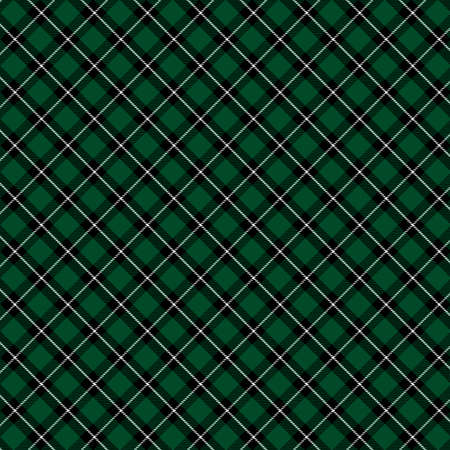 Tartan Pattern in Green and Black . Texture for plaid, tablecloths, clothes, shirts, dresses, paper, bedding, blankets, quilts and other textile products. Banque d'images - 126984289