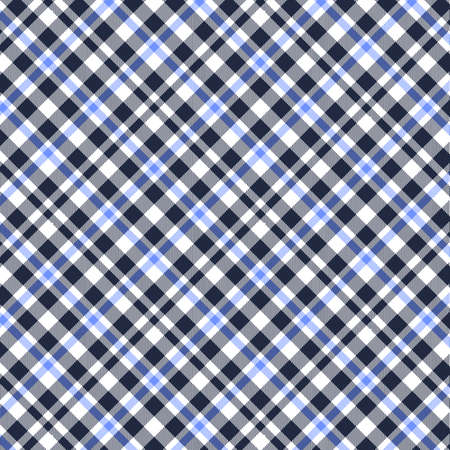 Tartan, Blue, White and Black plaid pattern. Texture for plaid, tablecloths, clothes, shirts, dresses, paper, bedding, blankets, quilts and other textile products.