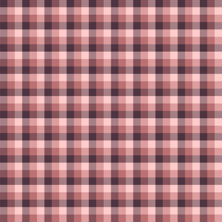 Gingham seamless red pattern. Texture for plaid, tablecloths, clothes, shirts,dresses,paper,bedding,blankets,quilts and other textile products. Vector Illustration