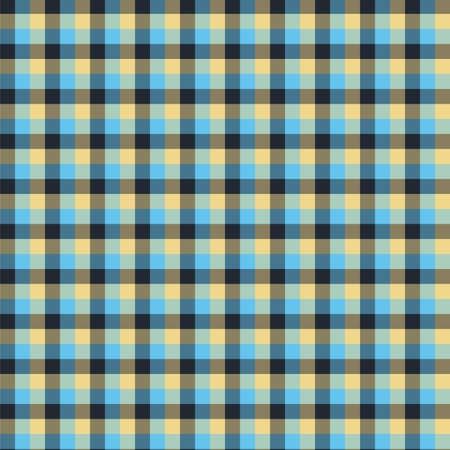 Gingham seamless blue and black pattern. Texture for plaid, tablecloths, clothes, shirts,dresses,paper,bedding,blankets,quilts and other textile products. Vector Illustration 일러스트