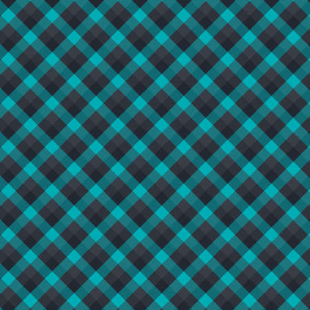 Gingham seamless forest and black pattern. Texture for plaid, tablecloths, clothes, shirts,dresses,paper,bedding,blankets,quilts and other textile products. Vector Illustration