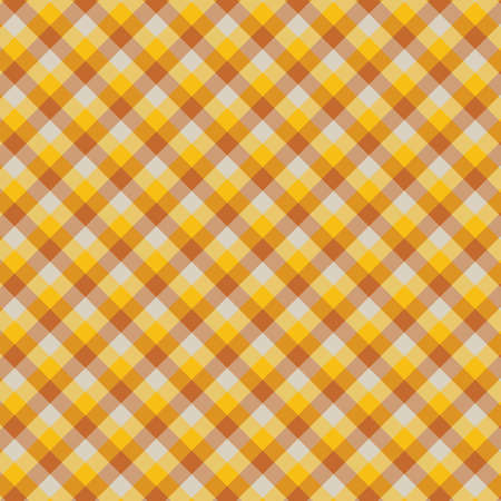 Gingham seamless yellow pattern. Texture for plaid, tablecloths, clothes, shirts,dresses,paper,bedding,blankets,quilts and other textile products. Vector Illustration 일러스트