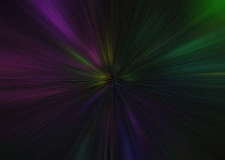 Light explosion star with glowing particles and lines. Beautiful abstract rays background