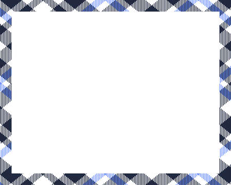 Rectangle borders and Frames vector. Border pattern geometric vintage frame design. Template for gift card, collage, scrapbook or photo album and portrait. Vector illustration EPS 10