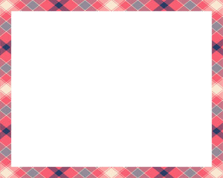 Rectangle borders and Frames vector. Border pattern geometric vintage frame design. Template for gift card, collage, scrapbook or photo album and portrait. Vector illustration