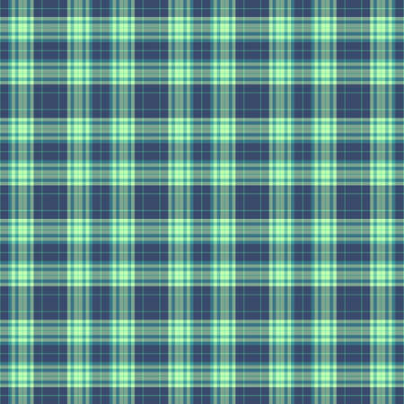 Tartan Pattern in Blue and Green.