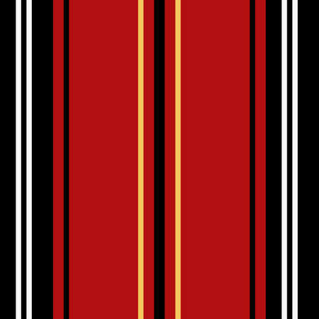 Stripe seamless pattern with colorful colors parallel stripes. Ilustrace