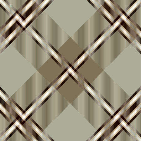 Tartan Pattern in Brown and Gray. Texture for plaid, tablecloths, clothes, shirts, dresses, paper, bedding, blankets, quilts and other textile products.