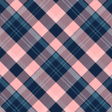 Tartan Pattern in Blue and Violet. Texture for plaid, tablecloths, clothes, shirts, dresses, paper, bedding, blankets, quilts and other textile products.