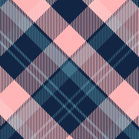 Tartan Pattern in Blue and Violet. Texture for plaid, tablecloths, clothes, shirts, dresses, paper, bedding, blankets, quilts and other textile products