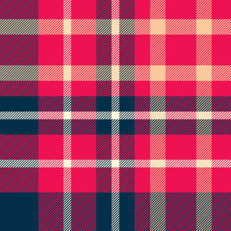 Tartan Pattern in Blue and Red. Texture for plaid, tablecloths, clothes, shirts, dresses, paper, bedding, blankets, quilts and other textile products.