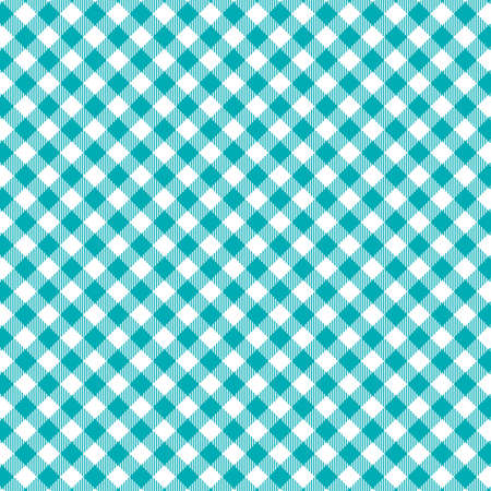 Gingham seamless pattern. Texture from rhombus/squares for - plaid, tablecloths, clothes, shirts, dresses, paper, bedding, blankets, quilts and other textile products. Vector illustration EPS 10. Standard-Bild - 133678443