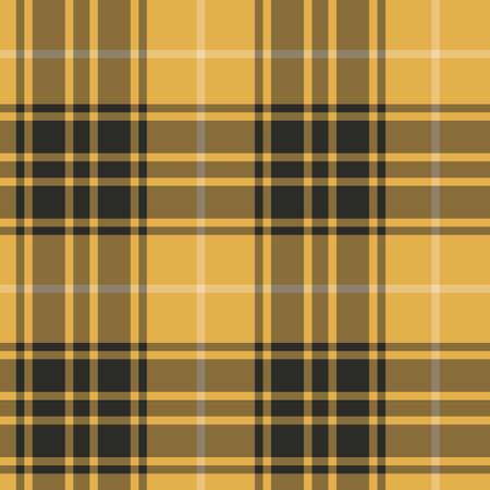 Tartan orange and black seamless pattern.Texture for plaid, tablecloths, clothes, shirts, dresses, paper, bedding, blankets, quilts and other textile products. Vecteurs