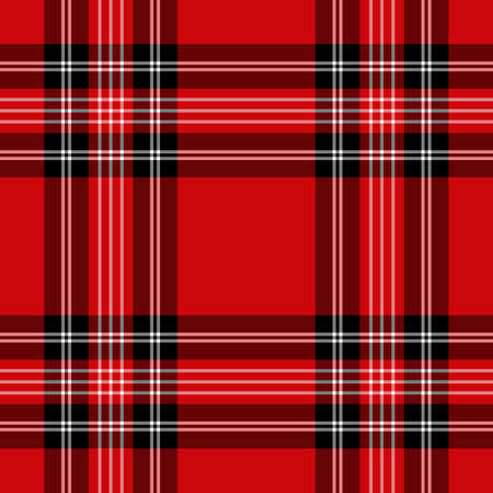 Tartan red and black seamless pattern. Texture for plaid, tablecloths, clothes, shirts, dresses, paper, bedding, blankets, quilts and other textile products.