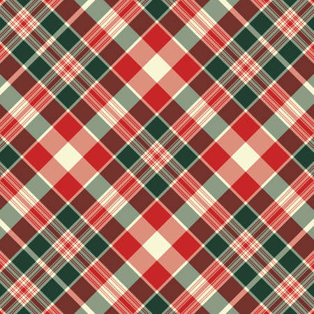 and green seamless pattern. Texture for plaid, tablecloths, clothes, shirts, dresses, paper, bedding, blankets, quilts and other textile products. Vector illustration Çizim