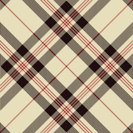 Tartan pattern. Scottish plaid. Scottish cage. Scottish checkered background. Traditional scottish ornament. Seamless fabric texture. Vector illustration