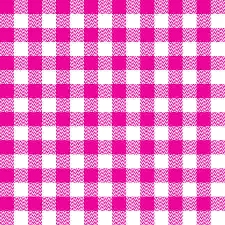 Gingham check plaid tartan pattern. Herringbone texture. Seamless tile for scarf, shirt, blanket, throw, or other winter fashion fabric designs.
