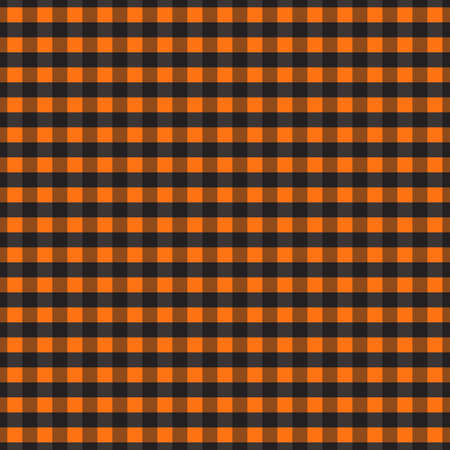 Gingham pattern. Texture from squares for plaid, tablecloths, clothes, shirts, dresses, paper, bedding, blankets, quilts and other textile products. Vector illustration EPS 10
