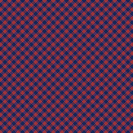 Gingham pattern. Texture from squares for plaid, tablecloths Vectores