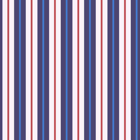 Stripe seamless pattern with colorful colors parallel stripes. Ilustracja