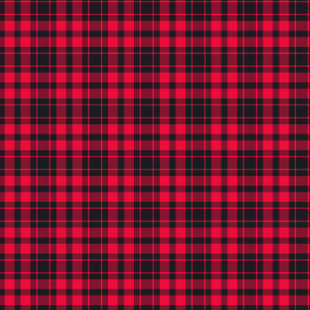 Tartan plaid pattern background. Texture for plaid, tablecloths, clothes, shirts, dresses, paper, bedding, blankets, quilts and other textile products. Vector illustration Zdjęcie Seryjne - 157365148