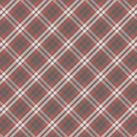 Tartan plaid pattern background. Texture for plaid, tablecloths, clothes, shirts, dresses, paper, bedding, blankets, quilts and other textile products. Vector illustration Zdjęcie Seryjne - 157365154