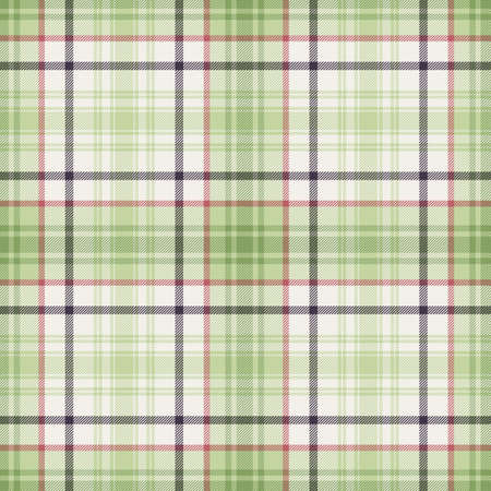 Tartan plaid pattern background. Texture for plaid, tablecloths, clothes, shirts, dresses, paper, bedding, blankets, quilts and other textile products. Vector illustration Zdjęcie Seryjne - 157365165