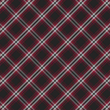Tartan plaid pattern background. Texture for plaid, tablecloths, clothes, shirts, dresses, paper, bedding, blankets, quilts and other textile products. Vector illustration Zdjęcie Seryjne - 157365185