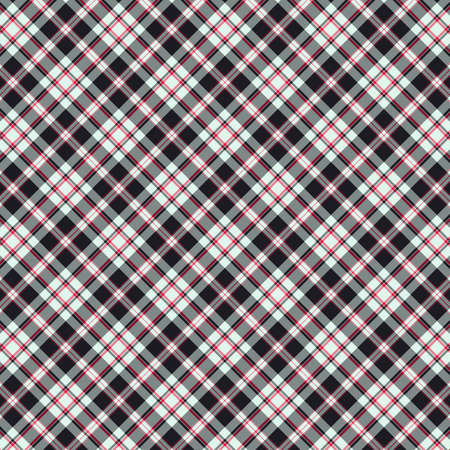 Tartan plaid pattern background. Texture for plaid, tablecloths, clothes, shirts, dresses, paper, bedding, blankets, quilts and other textile products. Vector illustration Zdjęcie Seryjne - 157365205