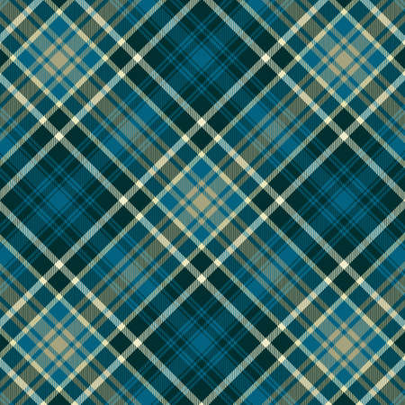Tartan plaid pattern background. Texture for plaid, tablecloths, clothes, shirts, dresses, paper, bedding, blankets, quilts and other textile products. Vector illustration Zdjęcie Seryjne - 157370128