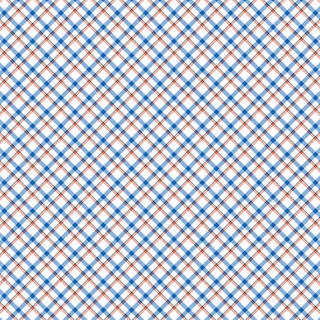 Tartan plaid pattern background. Texture for plaid, tablecloths, clothes, shirts, dresses, paper, bedding, blankets, quilts and other textile products. Vector illustration Zdjęcie Seryjne - 157370183