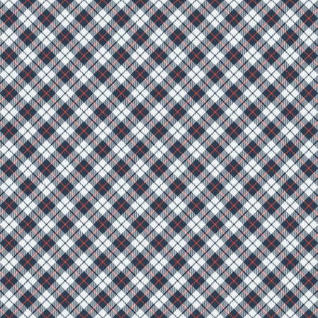 Tartan plaid pattern background. Texture for plaid, tablecloths, clothes, shirts, dresses, paper, bedding, blankets, quilts and other textile products. Vector illustration Zdjęcie Seryjne - 157370203