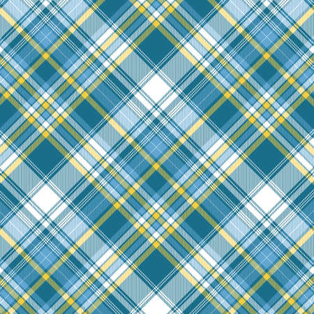 Tartan plaid pattern background. Texture for plaid, tablecloths, clothes, shirts, dresses, paper, bedding, blankets, quilts and other textile products. Vector illustration Zdjęcie Seryjne - 157371308