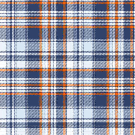 Tartan plaid pattern background. Texture for plaid, tablecloths, clothes, shirts, dresses, paper, bedding, blankets, quilts and other textile products. Vector illustration Zdjęcie Seryjne - 157371320